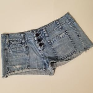 American Eagle Button Fly Jean Shorts